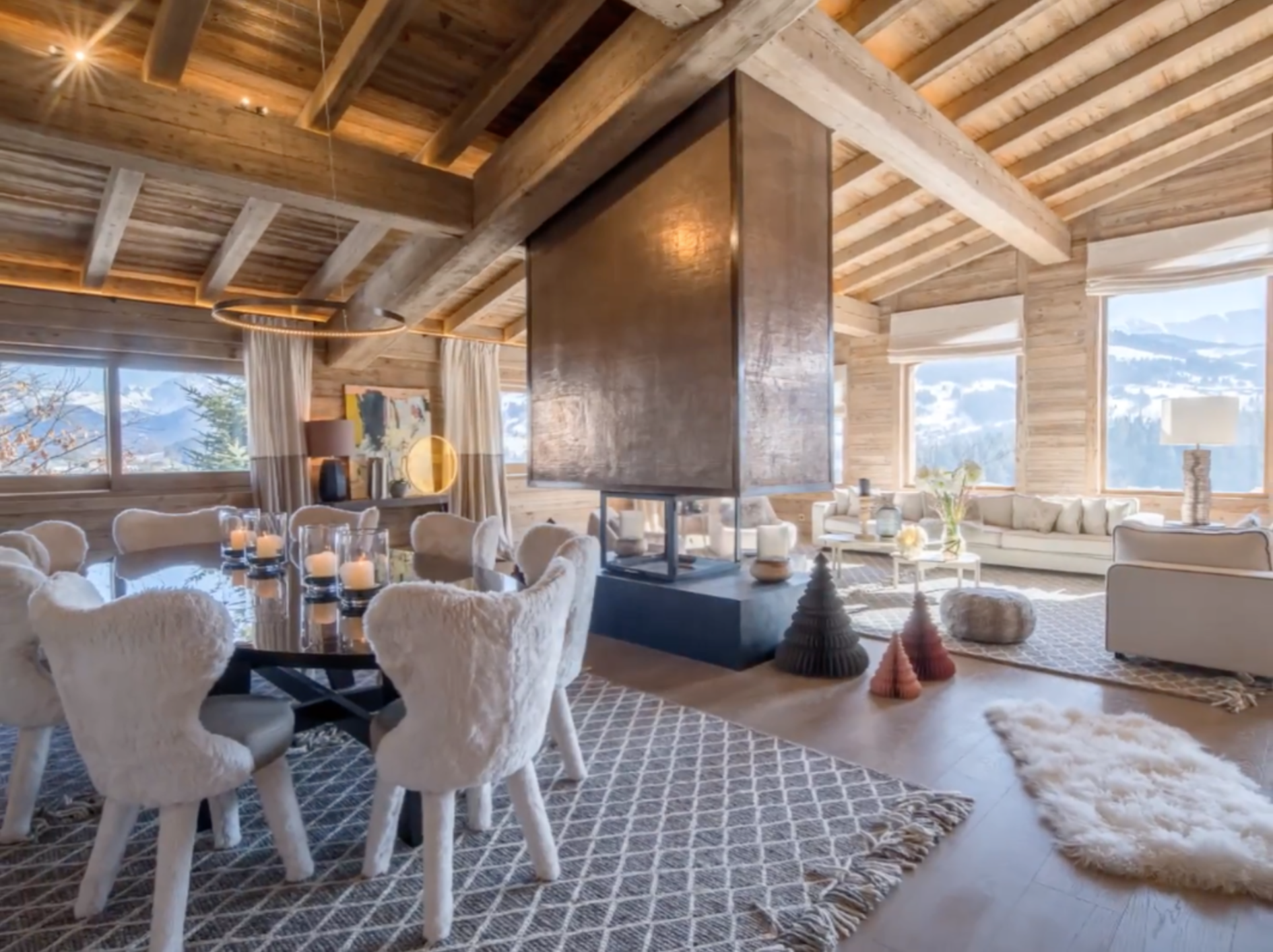 7 bedroom Megeve Chalet