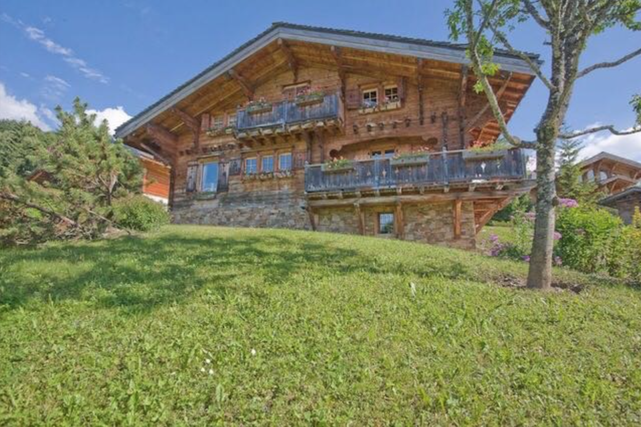 Traditional Chalet Megeve France