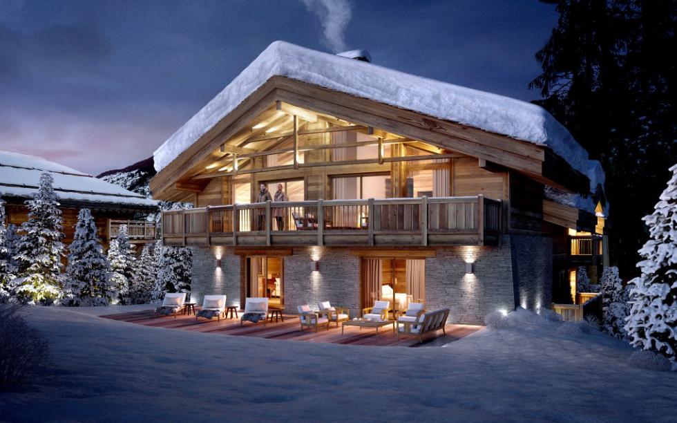 Luxury New Courchevel Chalet propertyfranceitaly.com