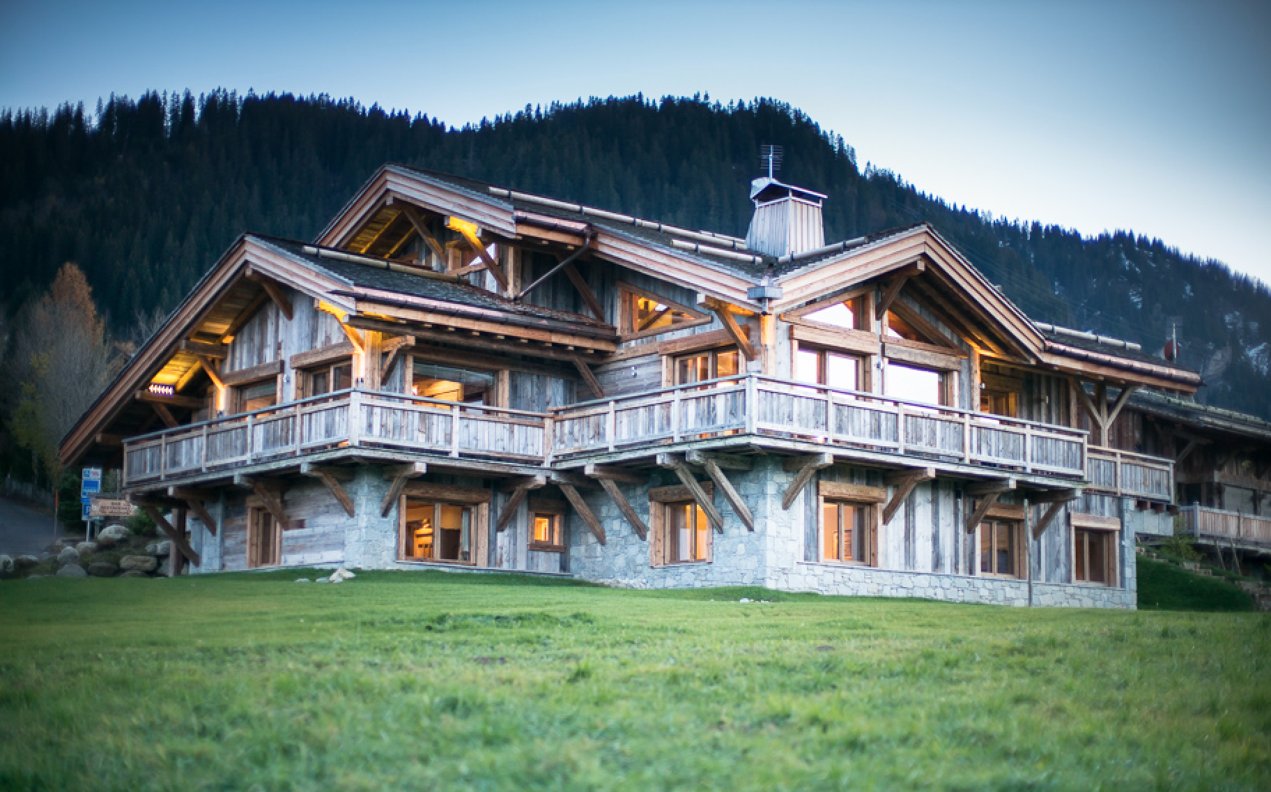 Luxury Rochebrune Megeve Chalet