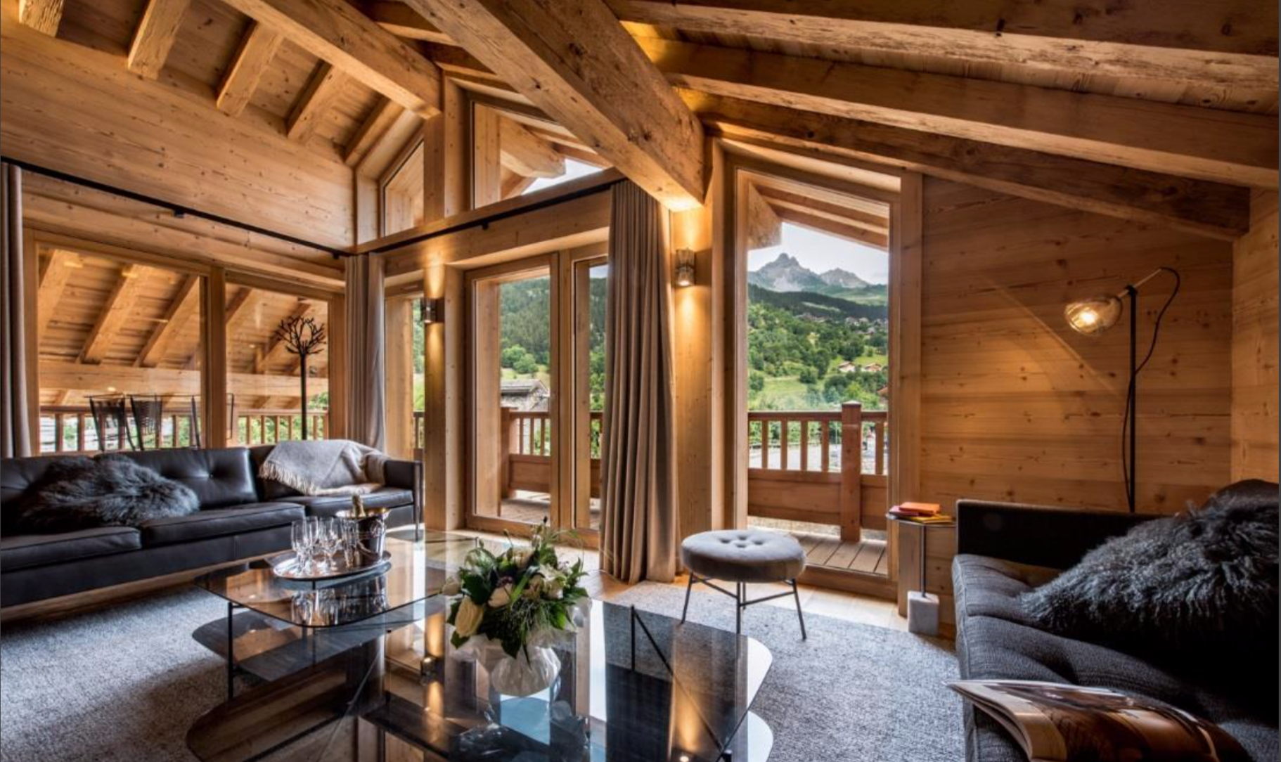 New-Build Sister-Chalets in Meribel