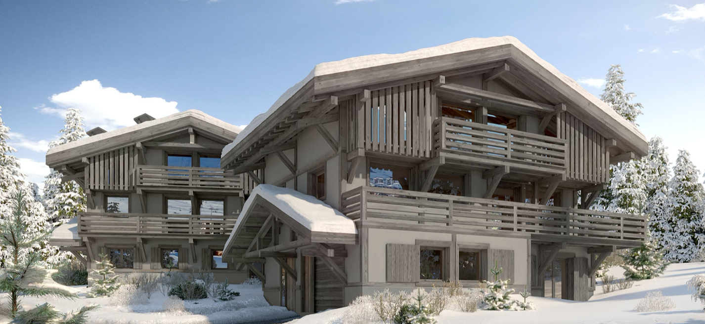 Megeve 2xNew Chalets Project