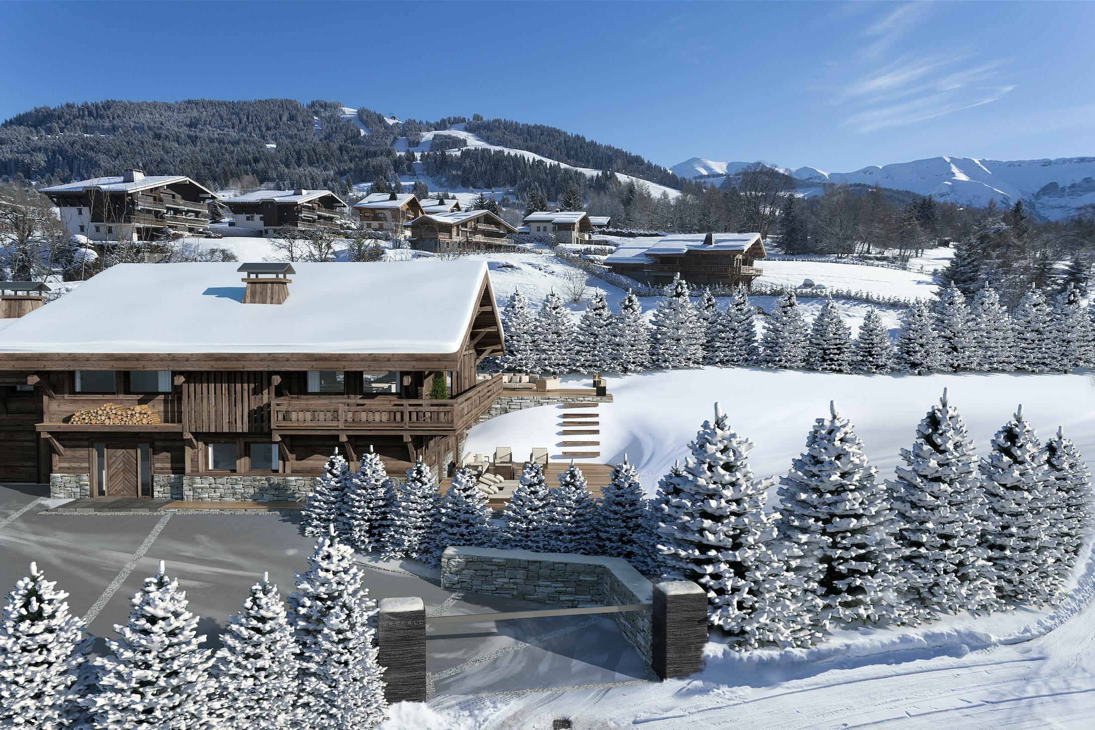 New Luxurious Chalet Development