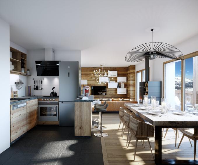 Luxury Ski-In Ski-Out Apartment