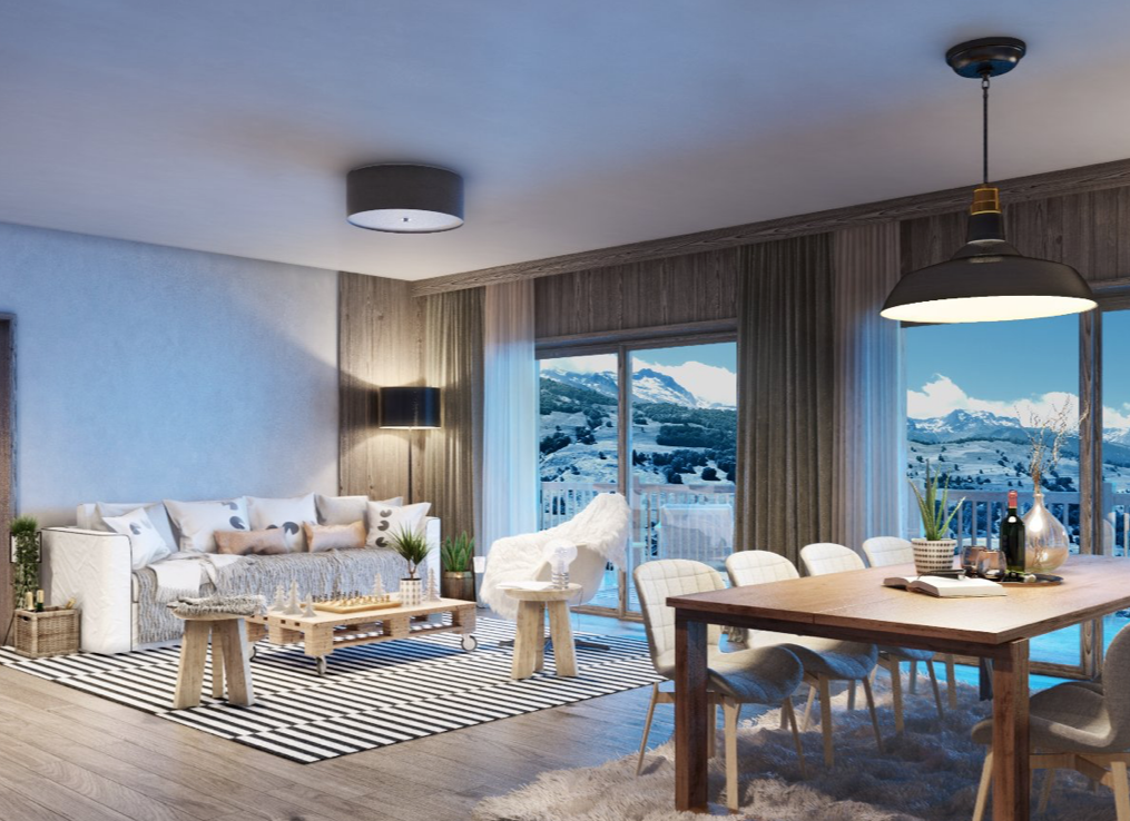 New 1 Bedroom Apartment Valmorel