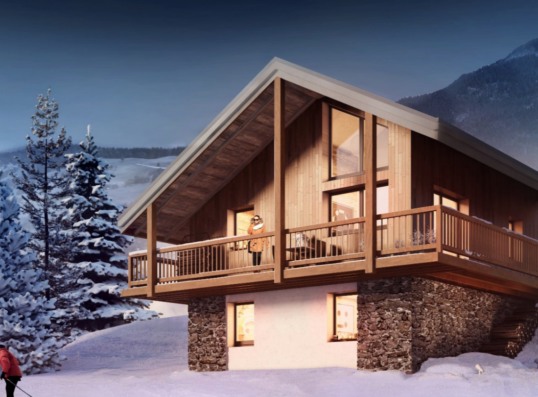 New 3 Bedroom Chalet Valmorel