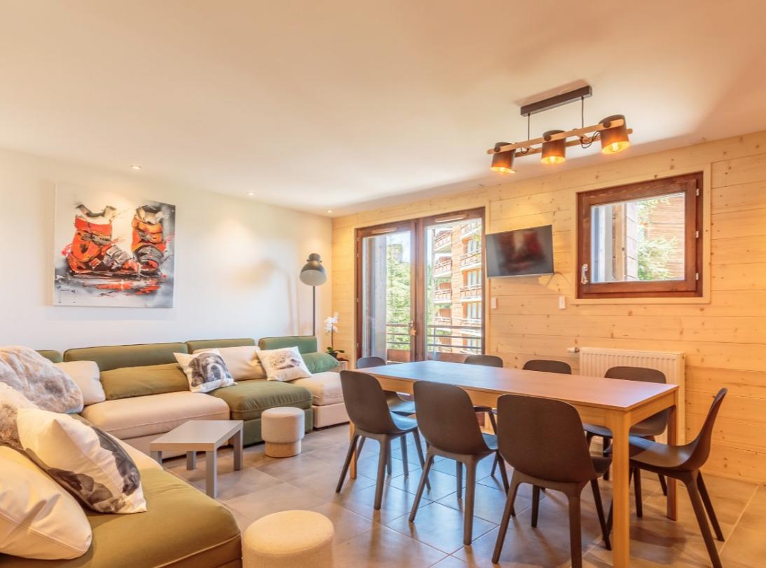 New Apartment centre of La Plagne
