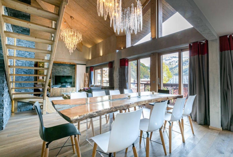 Exceptional penthouse apartment Val D'Isere