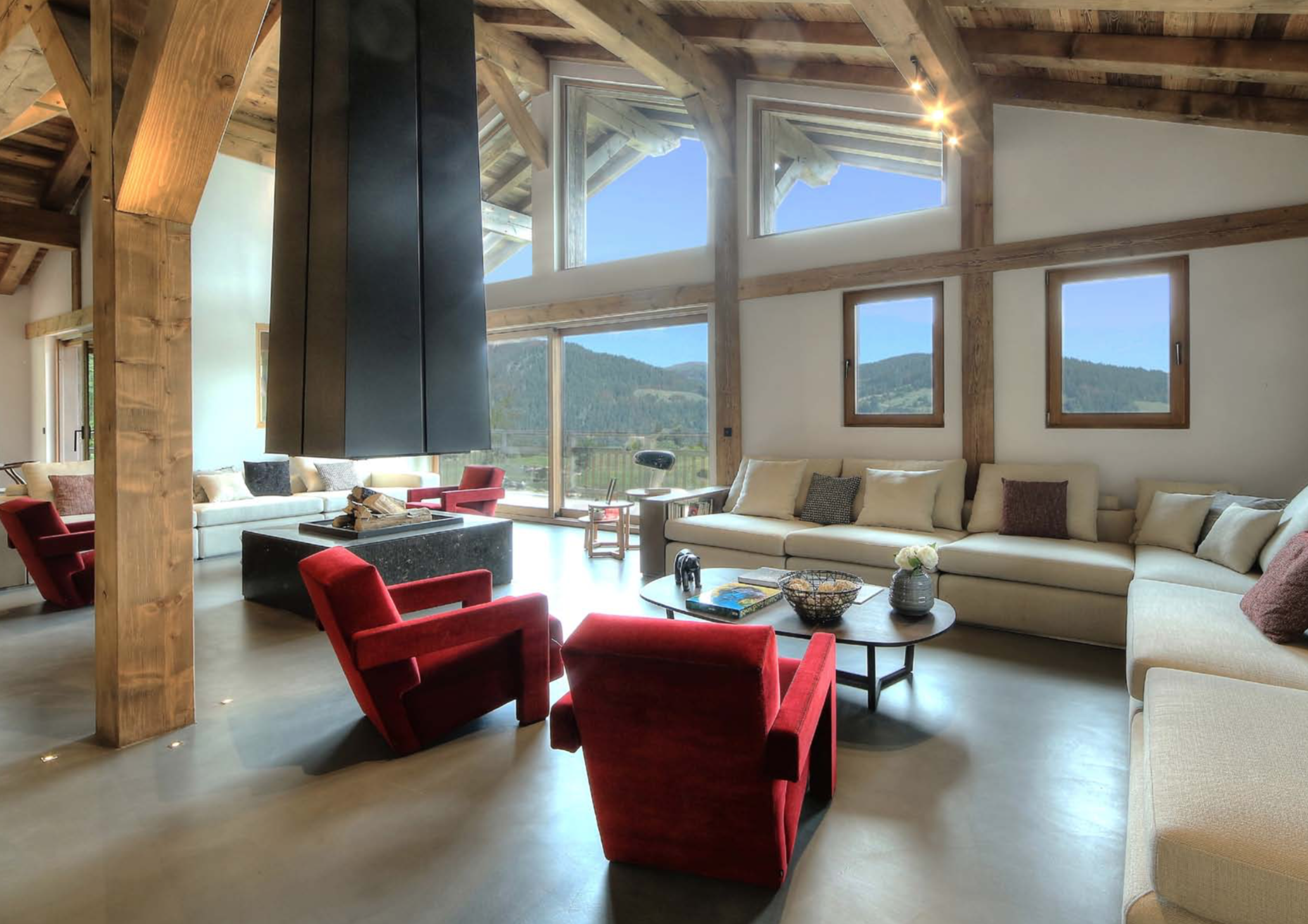 Superb Megeve Mountain Chalet