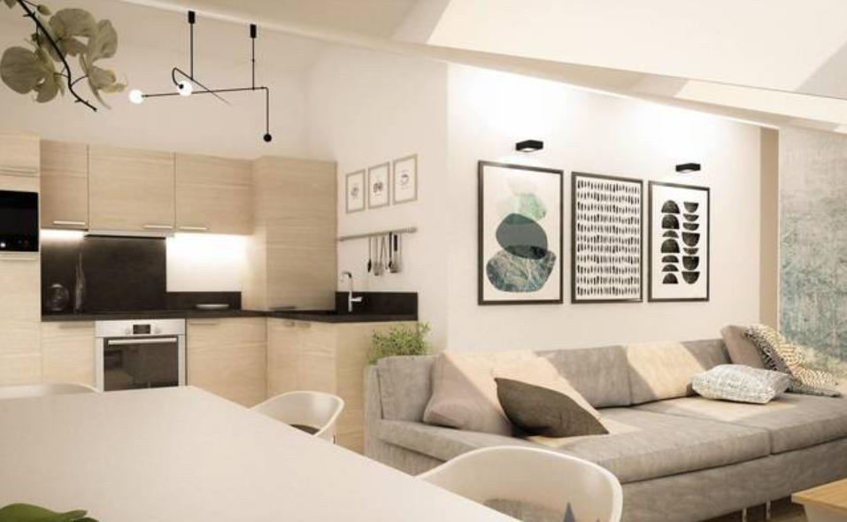 New 2 Bedroom Apartment Servoz