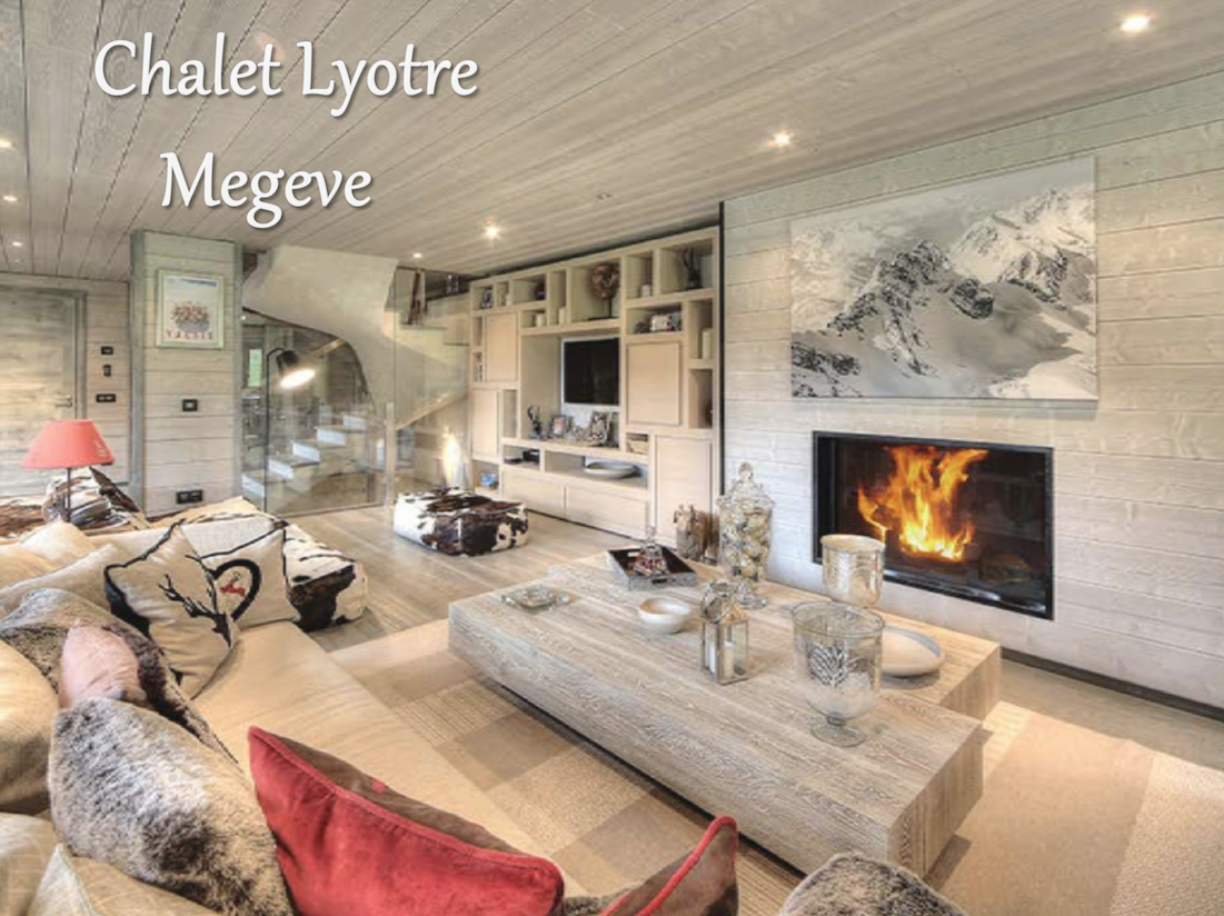 Megeve Chalet w/Brilliant Views