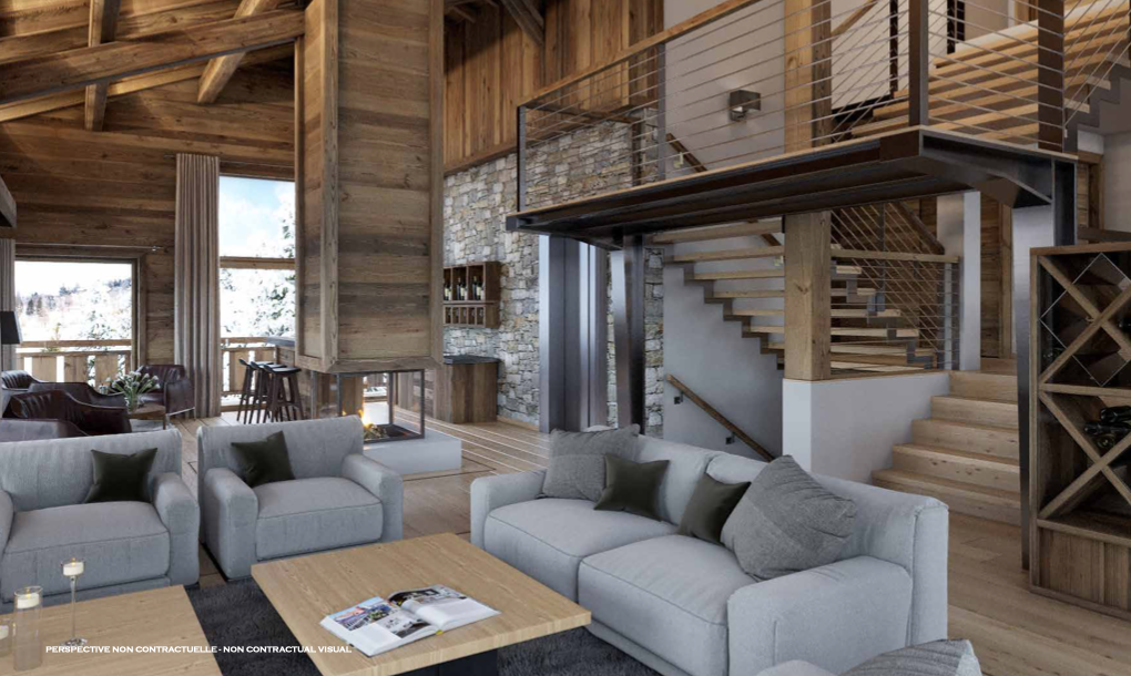 New 5 Suite Chalet Megeve