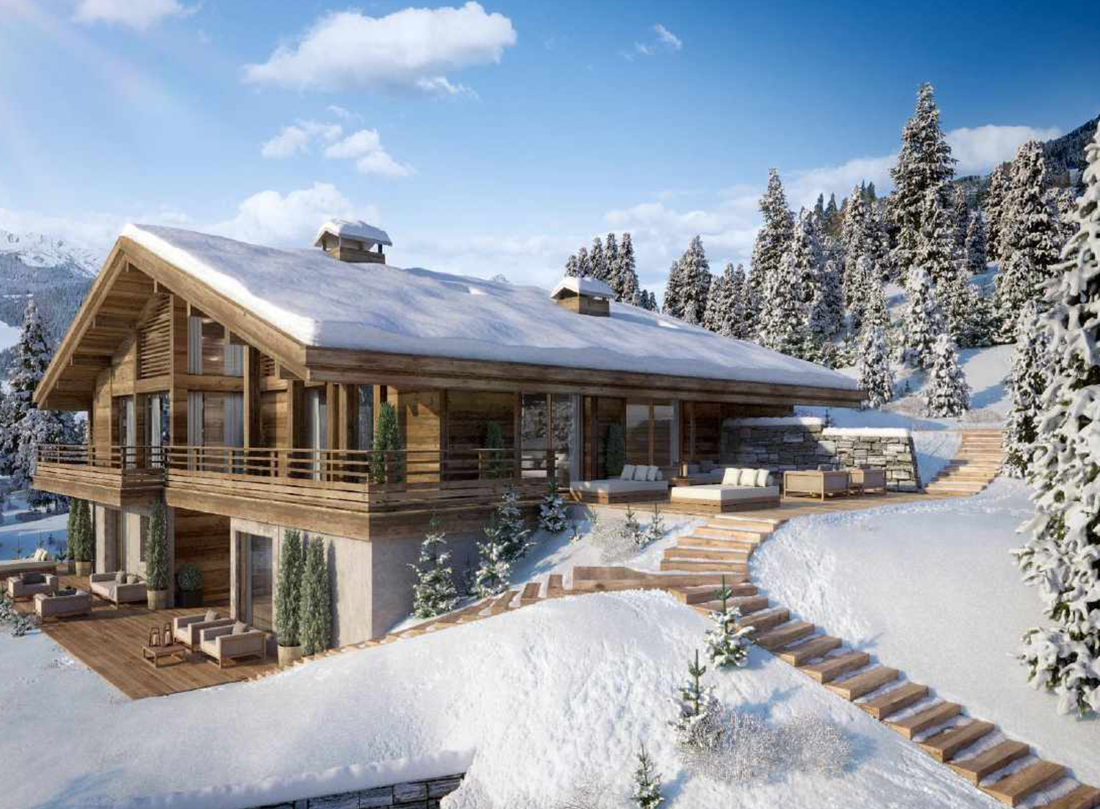 Luxury New-Build Megeve