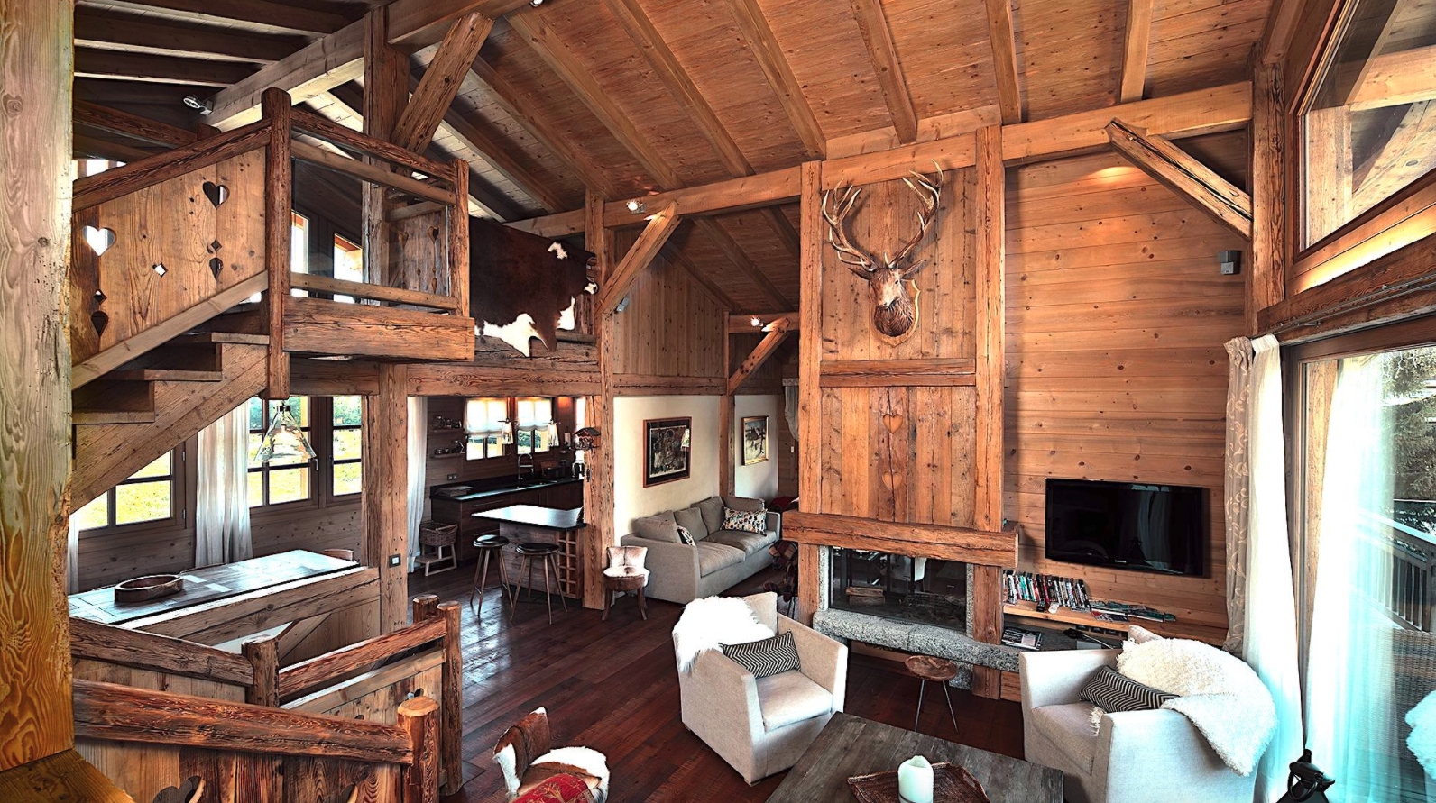 Traditional Luxury Megeve Chalet
