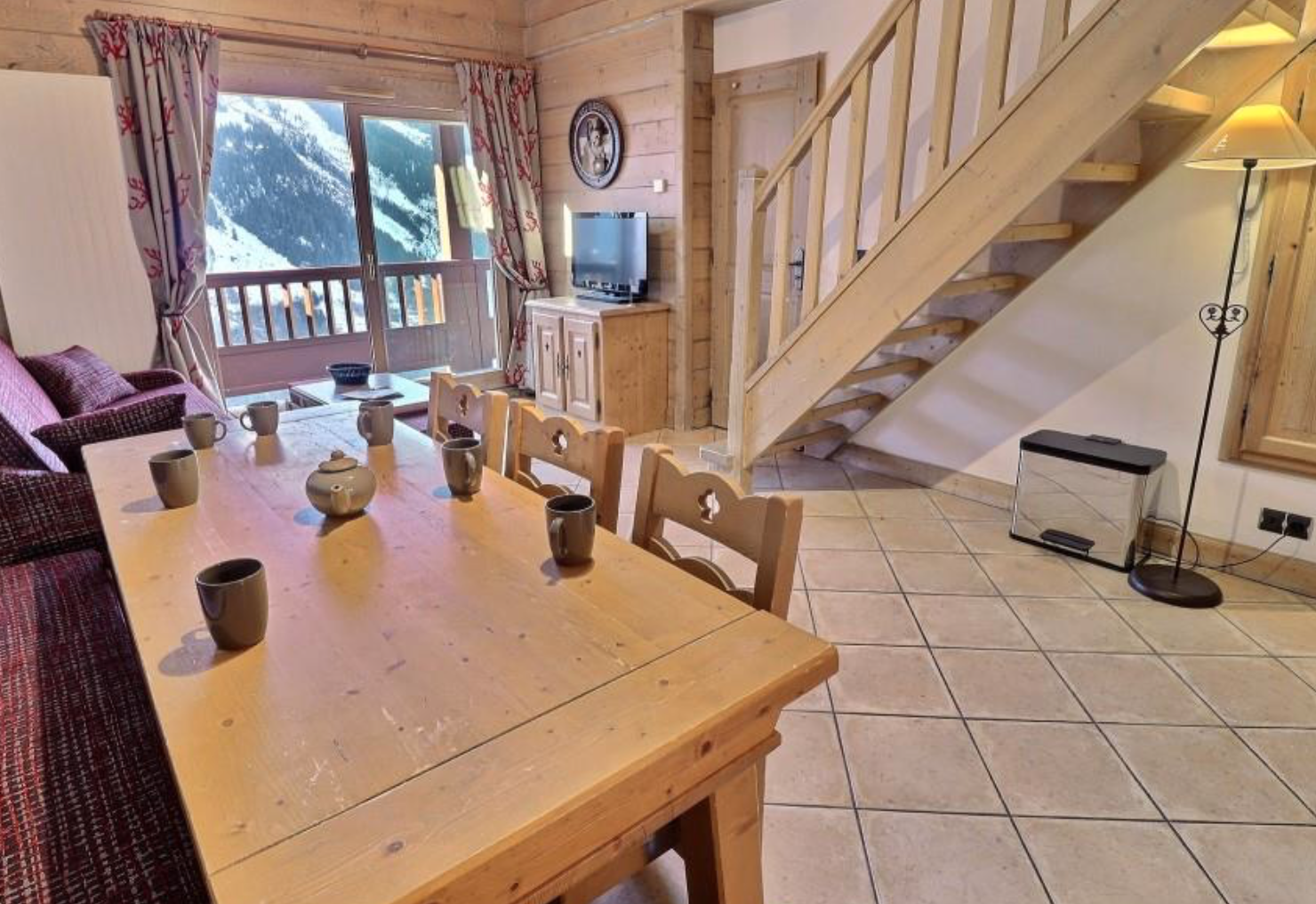 Ski-in Ski-out Apartment Sainte-Foy