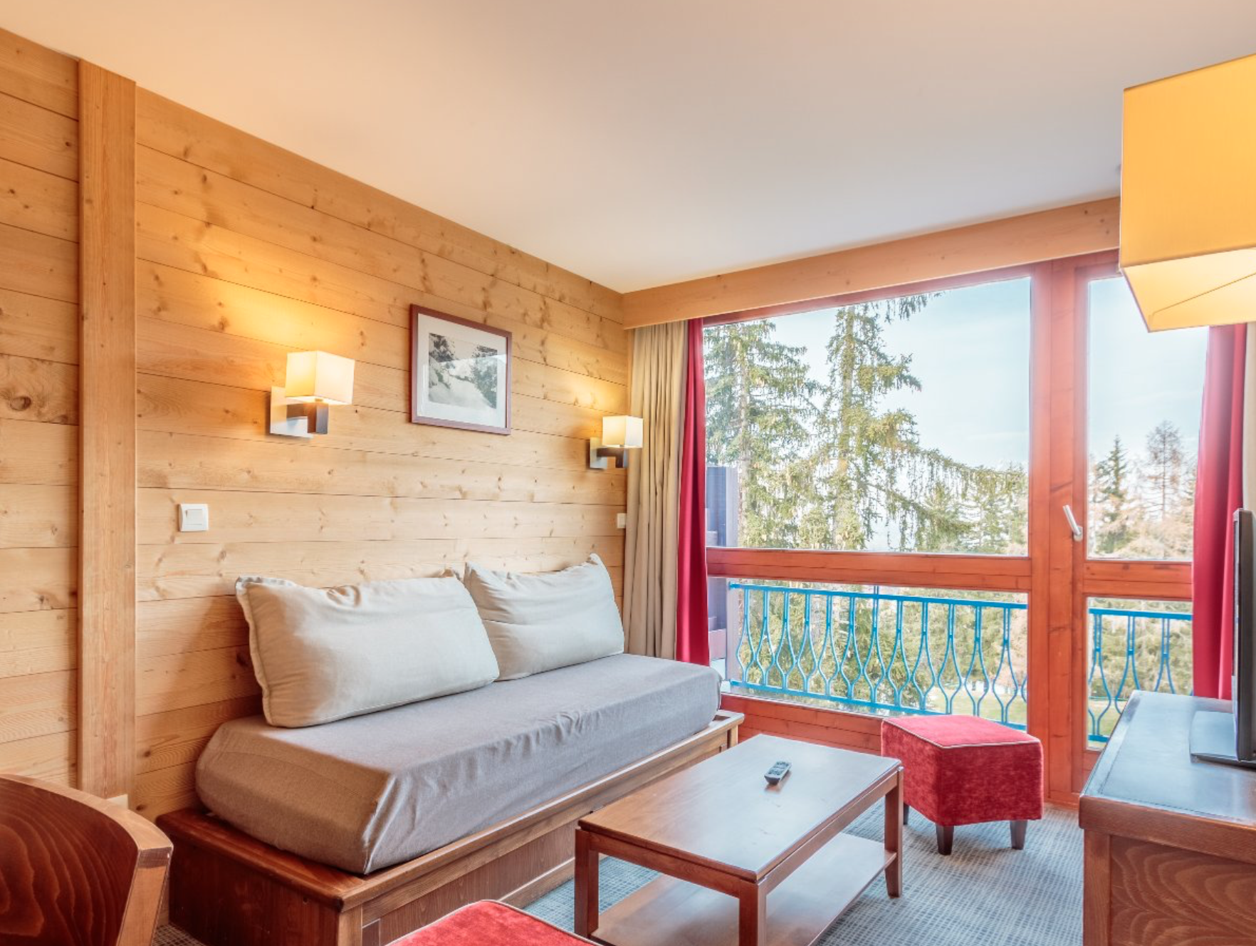 Two-Bedroom Ski-In Ski-Out Apartment